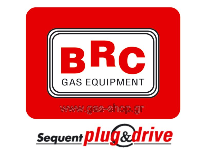 BRC Sequent Plug & Drive , 8-κύλινδρο , έως 240 kw ( BRC cod : 09SQ60000038 )