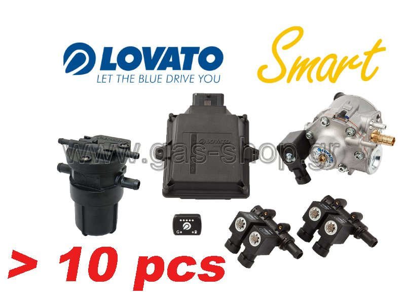 Lovato 3 - 4cyl Easy-Smart Kit Minil Pack , με αισθητήρα ( Lovato - set filter ) 10pcs ( set )